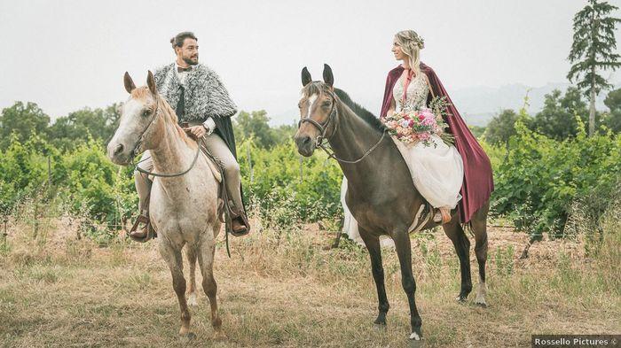 L'arrivée des mariés en cheval : Top ou Bof ? 🐎 1