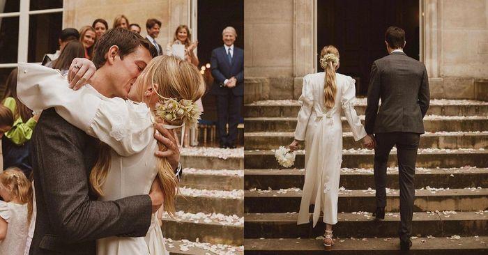 Le mariage intime de Géraldine Guyot et Alexandre Arnault 😍💖 1