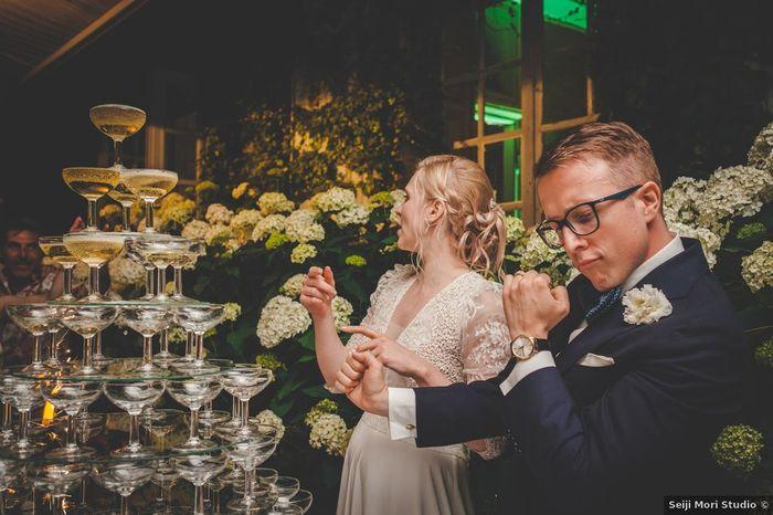 Il y aura une fontaine à champagne à ton mariage ? 🥂 1