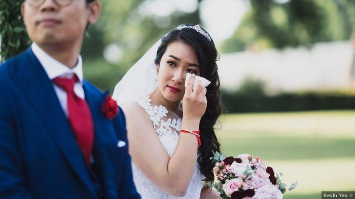 Quel moment du mariage t'emplit d'émotion ?🙌 1
