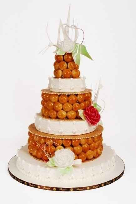 Pièce montée ou Wedding cake ? - 1