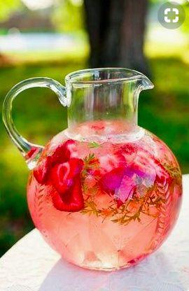 eau fraise