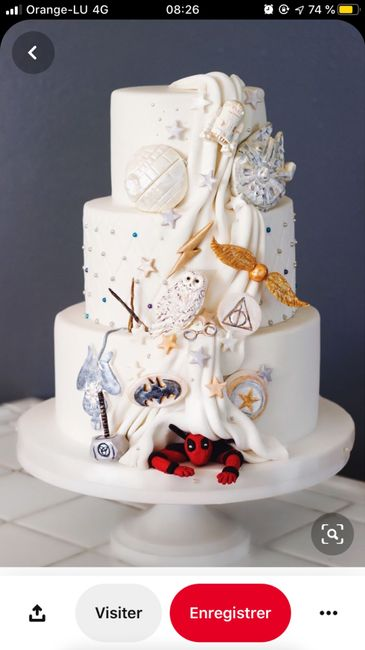 Wedding cake Bling Bling 🍰 1
