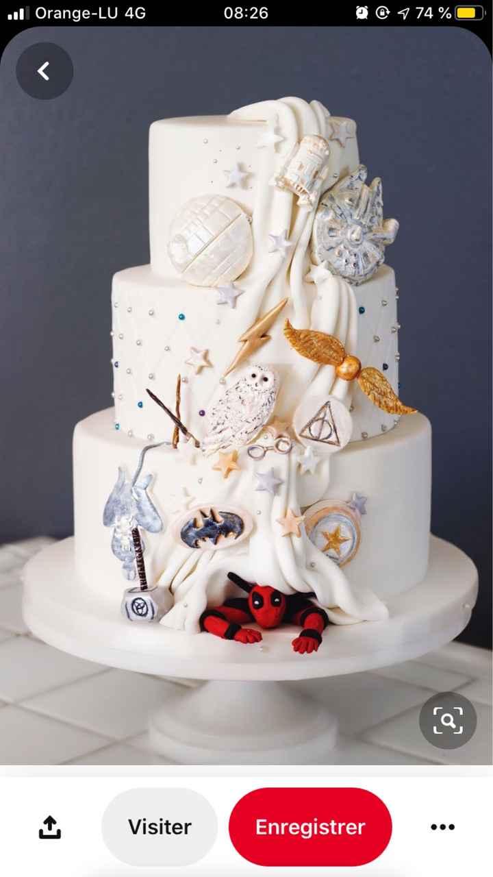 Wedding cake Bling Bling 🍰 - 1