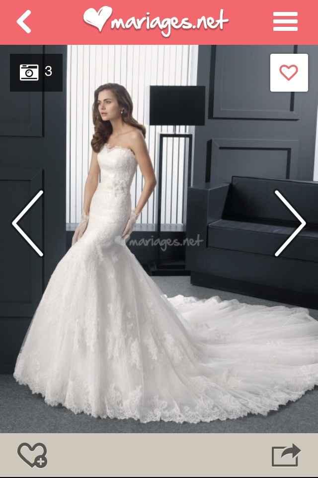 Les robes de mariée du 16 mars 2015 sont - 1