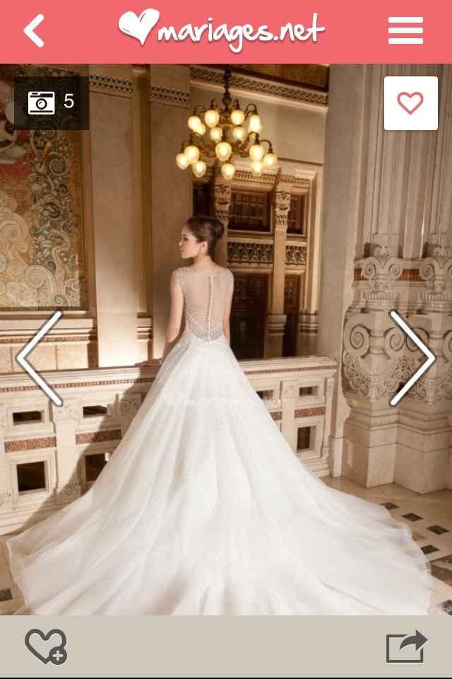 Les robes de mariée du 16 mars 2015 sont - 2