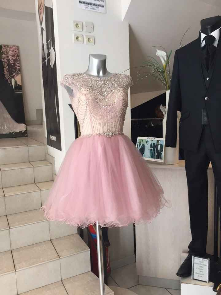 Robe cocktail pour ma sister