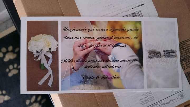Et voilà mes cartes de remerciement - 2