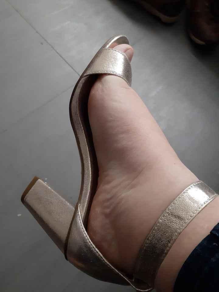 Il y a du changement au niveau des chaussures... - 2