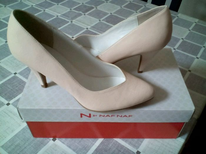 Chaussures roses - 1
