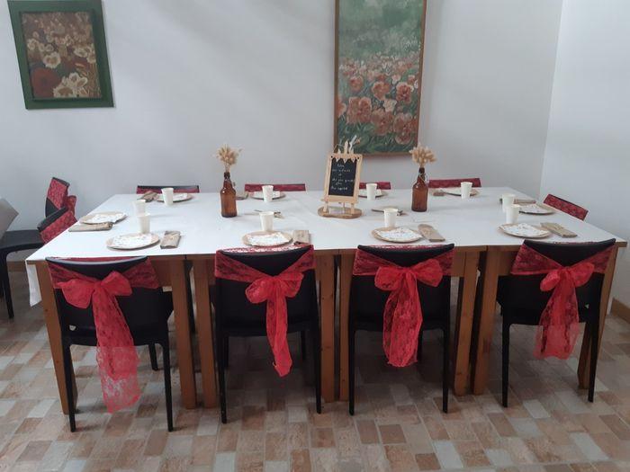 Mon mariage (2ème partie) , cérémonie laïque sous la pluie +deco 3