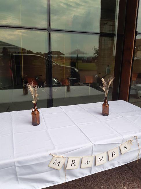 Mon mariage (2ème partie) , cérémonie laïque sous la pluie +deco 21