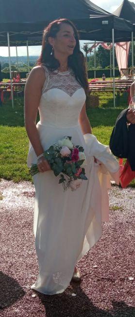 Mon mariage (2ème partie) , cérémonie laïque sous la pluie +deco 23