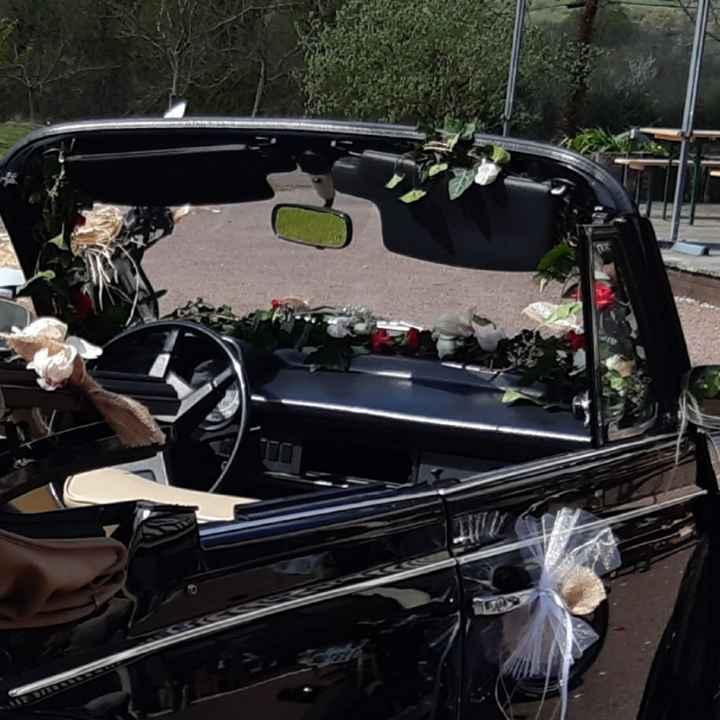 Voiture des mariés - 2