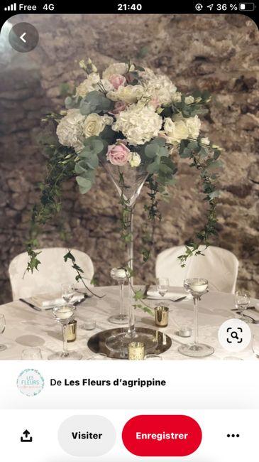 Bouquet 💐 centre de table 1