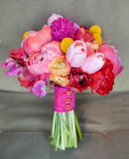 Les bouquets du 14 août