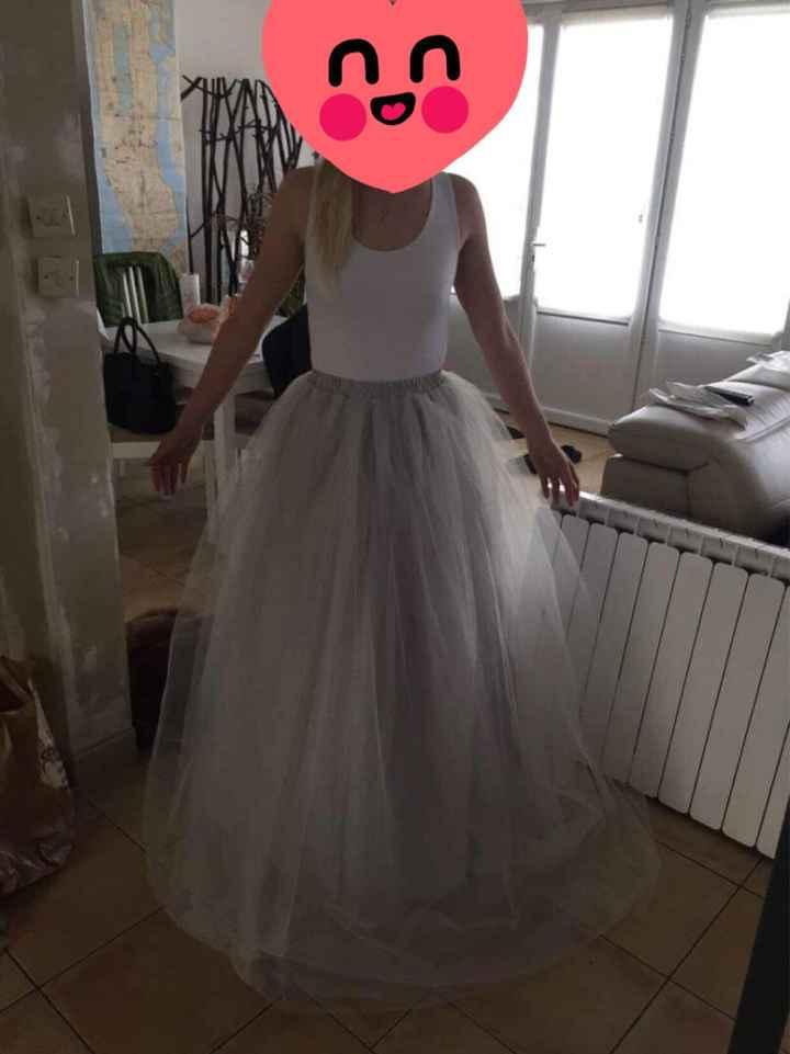 Robe/jupe tulle demoiselles d'honneur - 1