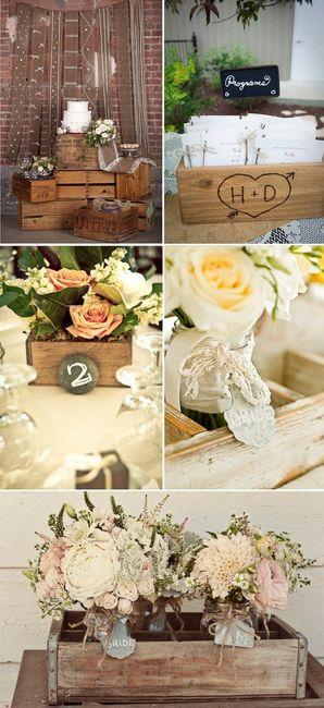 Caisse en bois pour d co photo d coration - Caisse en bois pour decoration ...