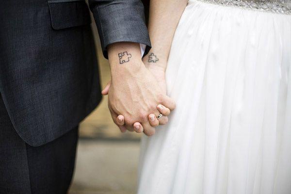 Les tatouages en couple
