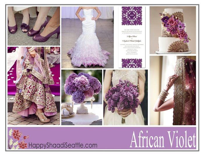 Le club du mariage violet