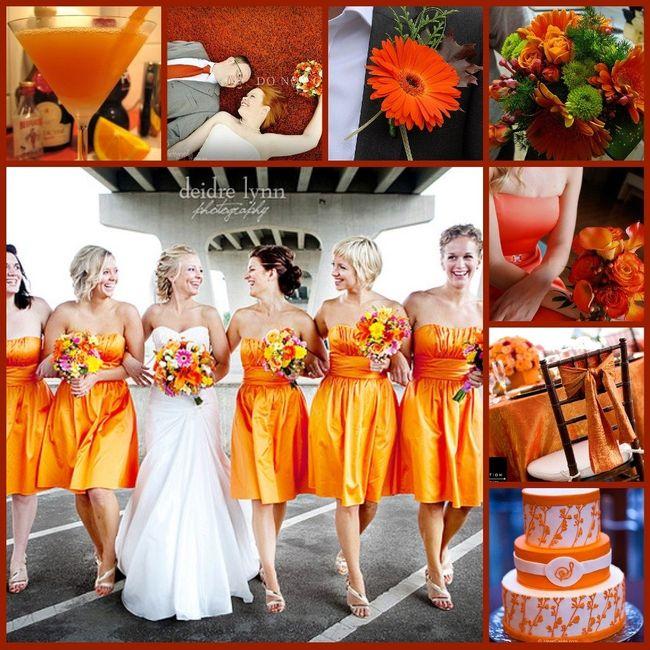 Le club du mariage orange d coration forum - Mariage couleur orange ...