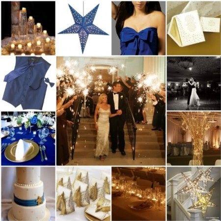 Le club du mariage bleu et or - Décoration - Forum Mariages.net