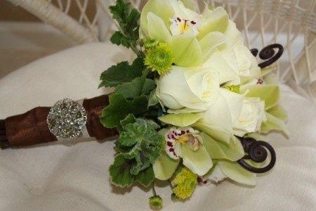 des idées pour une mariage Vert et marron, principalement anis et ...