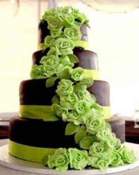 Le club du mariage vert anis et marron chocolat - Vert anis marron ...