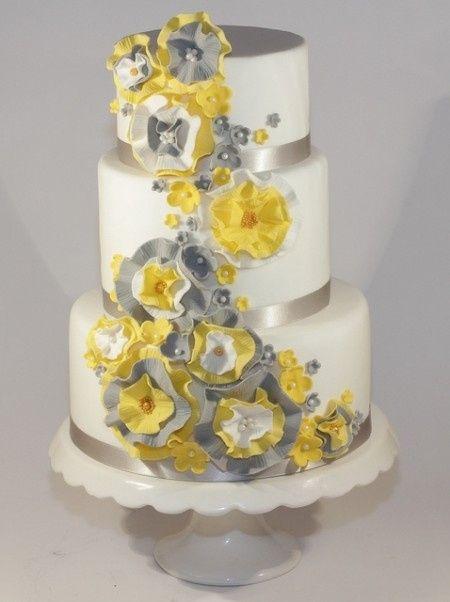 Le club du mariage jaune et gris - Décoration - Forum Mariages.net