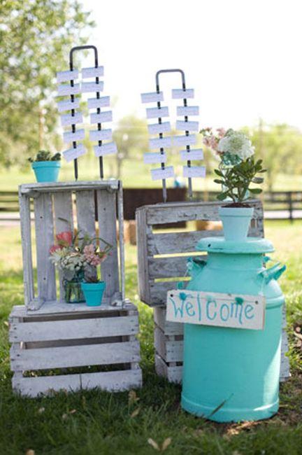 Idées déco #35 pour décorer avec des vieux pots de lait - 9