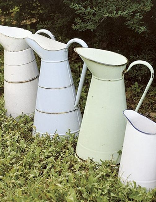 Idées déco #35 pour décorer avec des vieux pots de lait - 1