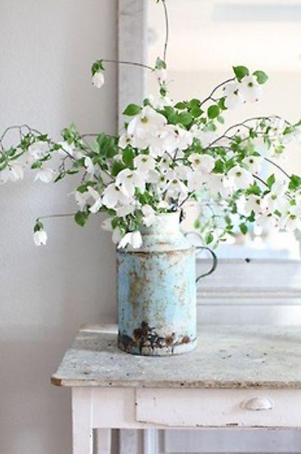 Idées déco #35 pour décorer avec des vieux pots de lait - 0