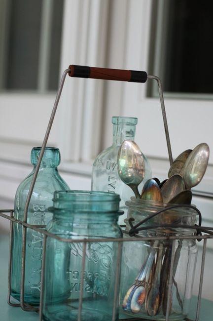 Idées déco #35 pour décorer avec des vieux pots de lait - 6