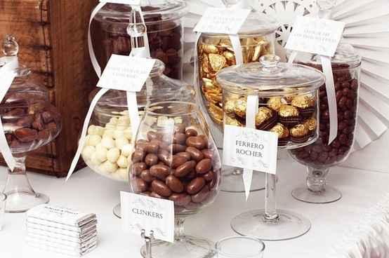 Un bar à chocolat