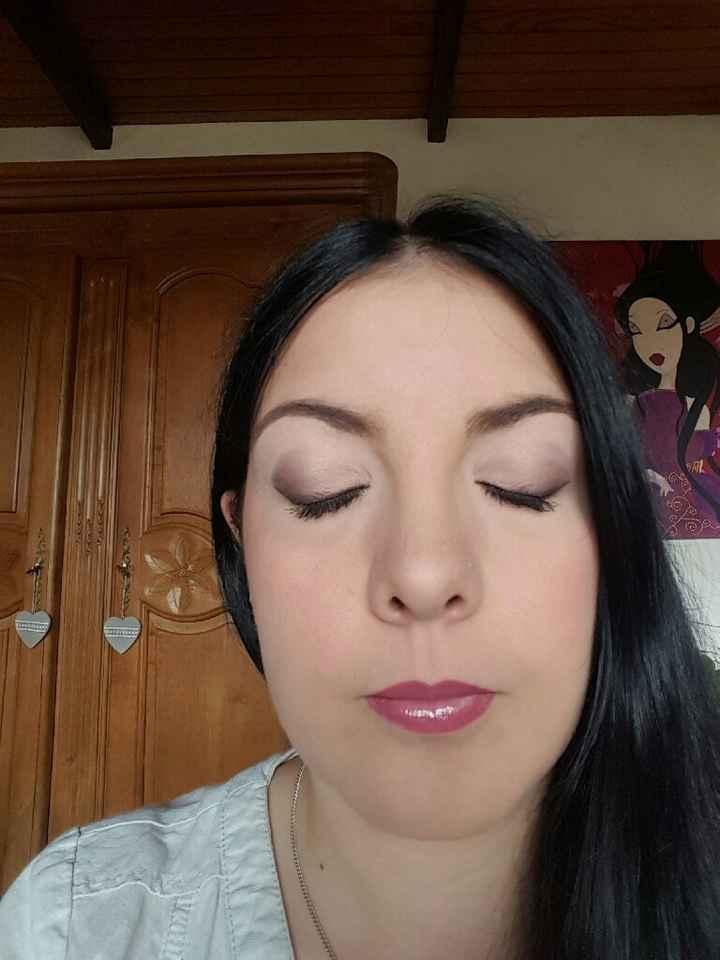 Essai maquillage a j-06 - 1