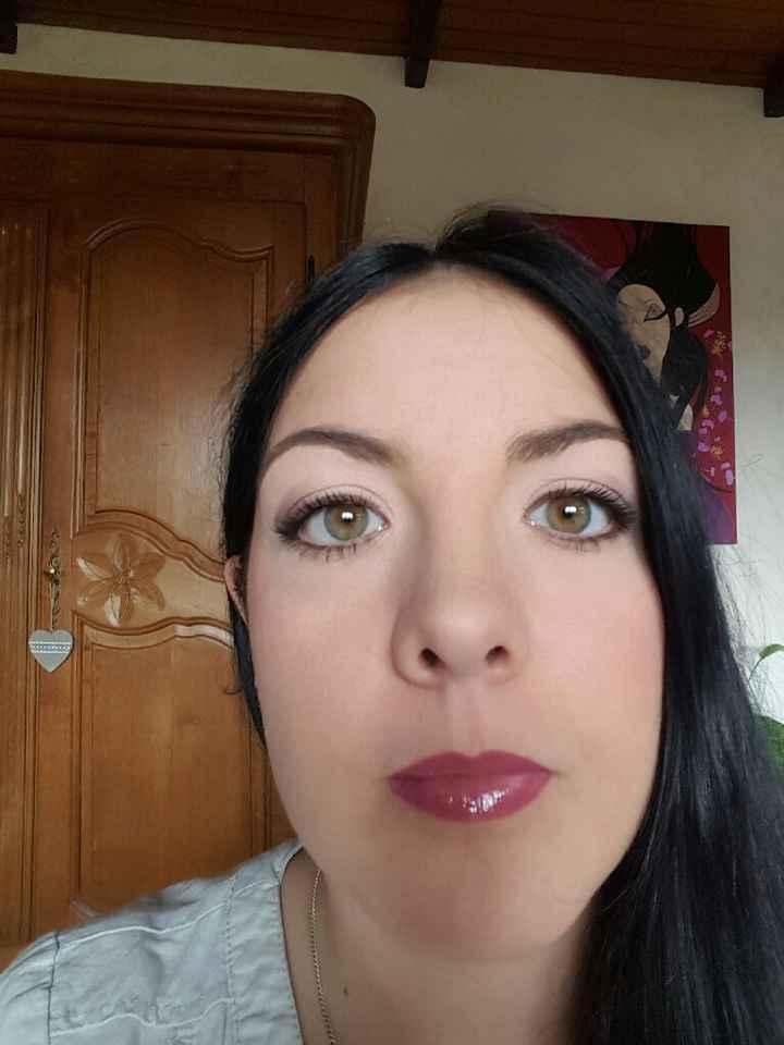 Essai maquillage a j-06 - 2