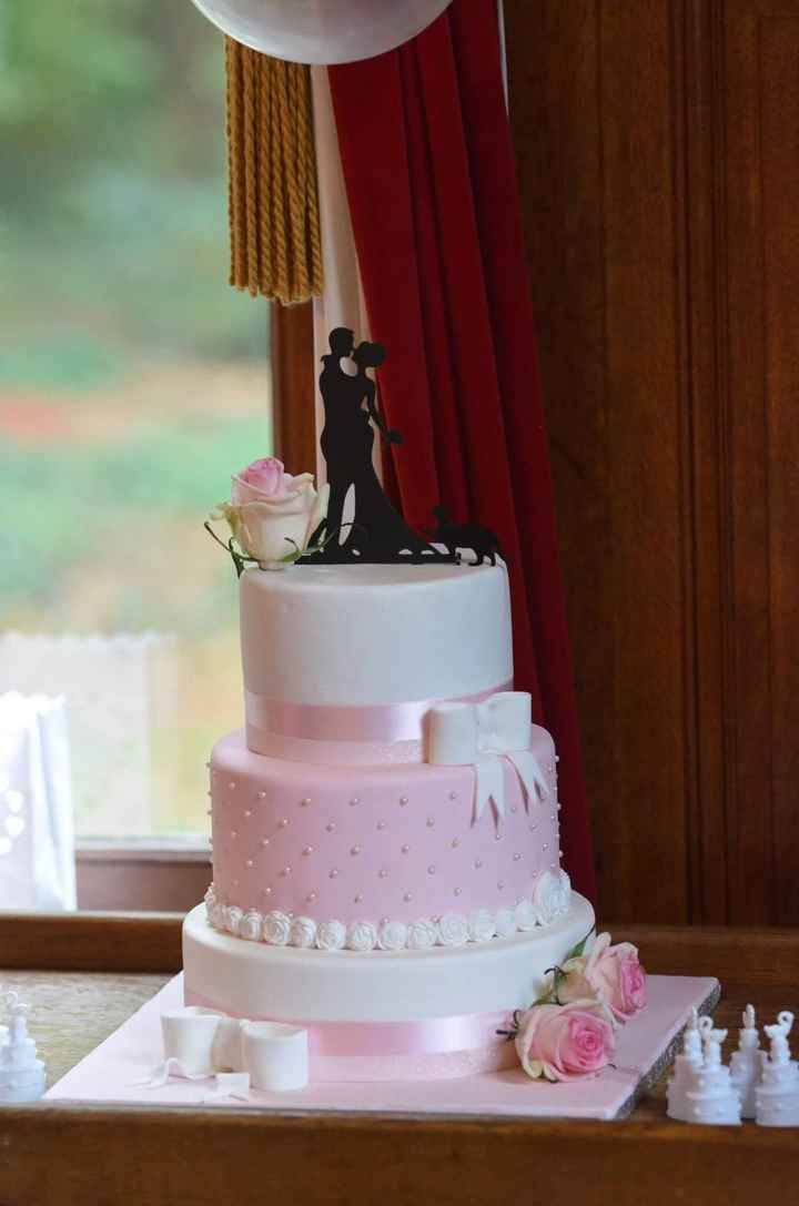 Pour celles qui hésitent: wedding cake - 1