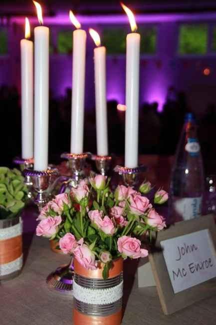 une table du mariage