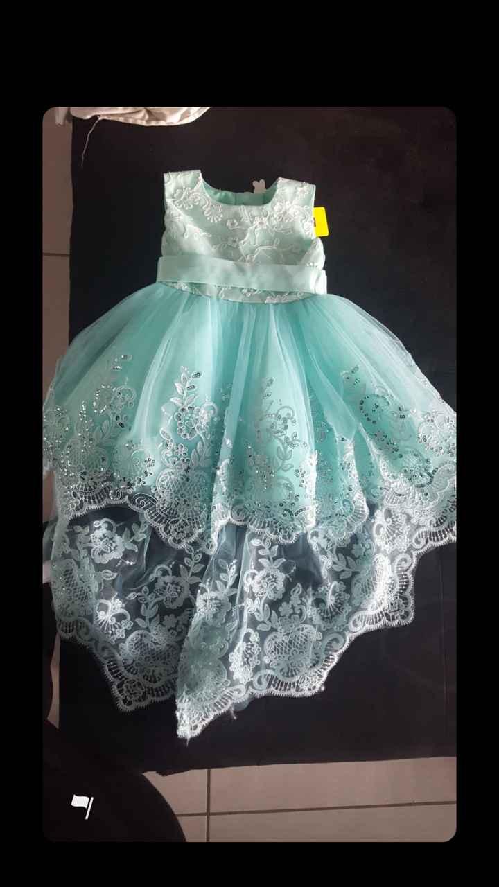 Ma fille : robe presque faite - 1