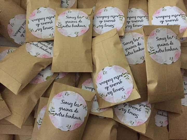 étiquettes sachets de graines - 1