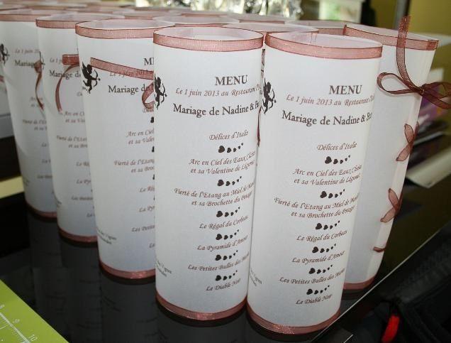 Idée menu mariage hiver
