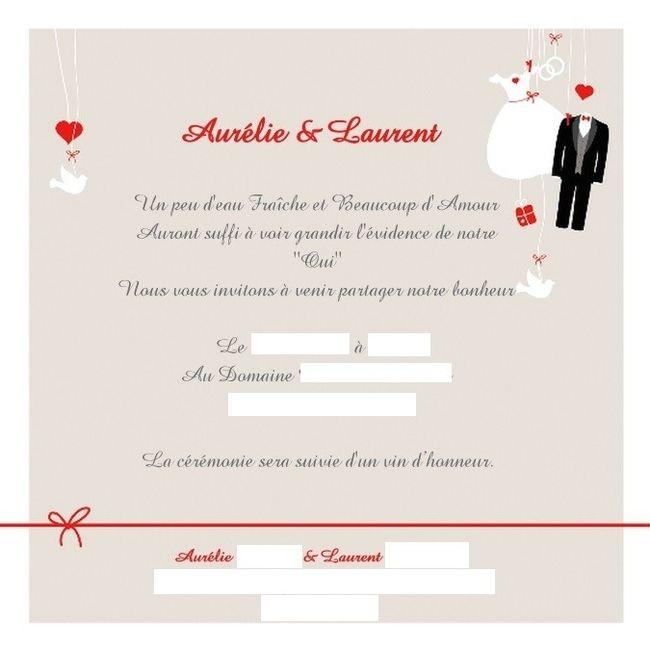Texte faire part besoin d 39 aide organisation du mariage forum - 55 ans de mariage noce de quoi ...