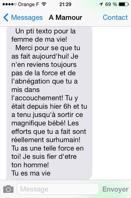 Sa plus belle phrase d'amour - 1