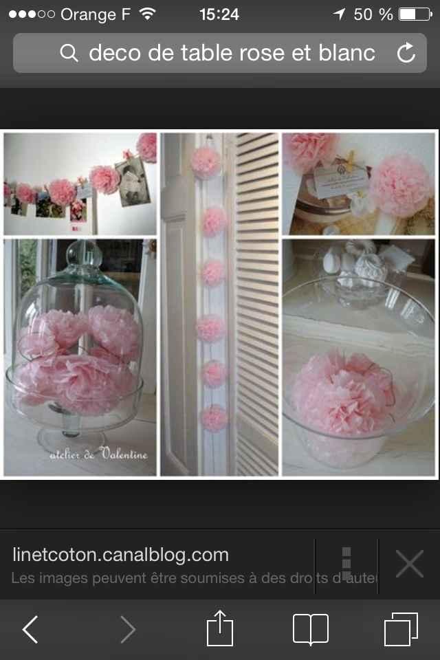 Pompons roses