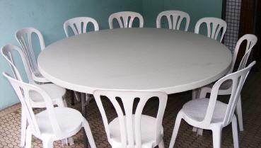 Combien de personnes sur une table ronde page 3 - Taille table ronde 8 personnes mariage ...