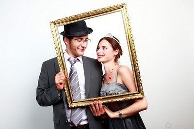 animation mariage photo cadre