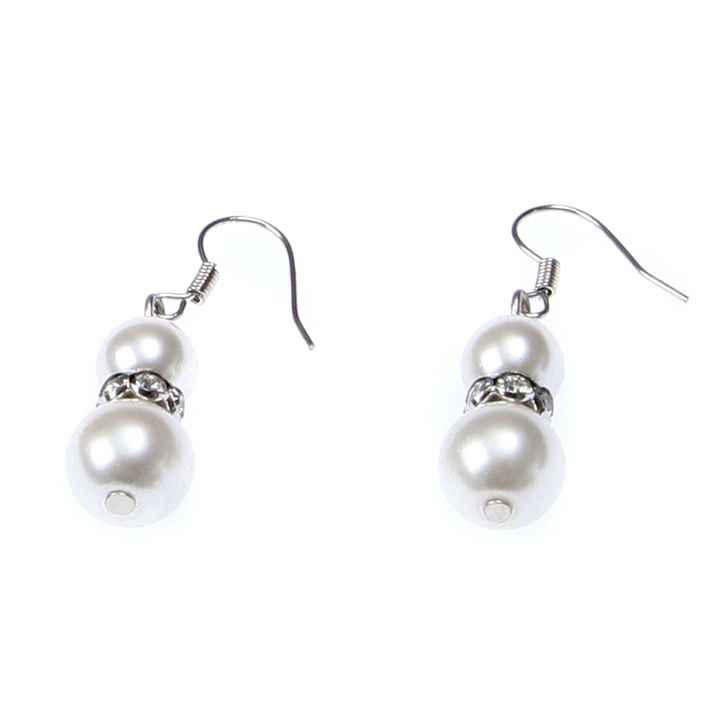 Mes jolies BO en perles réalisées par ma Soeur