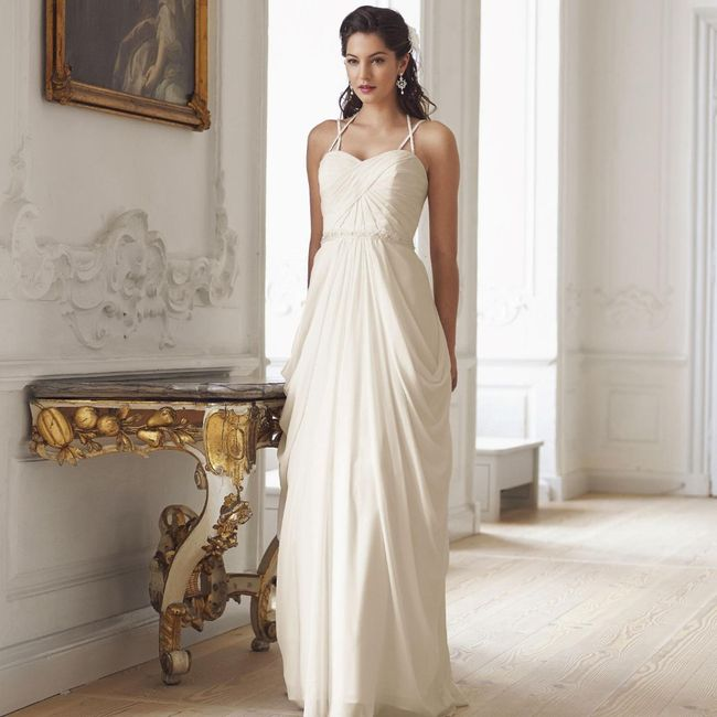 431d42e2aaaee Ma robe de mariée Style de coiffure avec robe de mariée style empire 1 ...