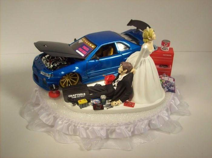 CAKE TOPPER - Skyline ♥