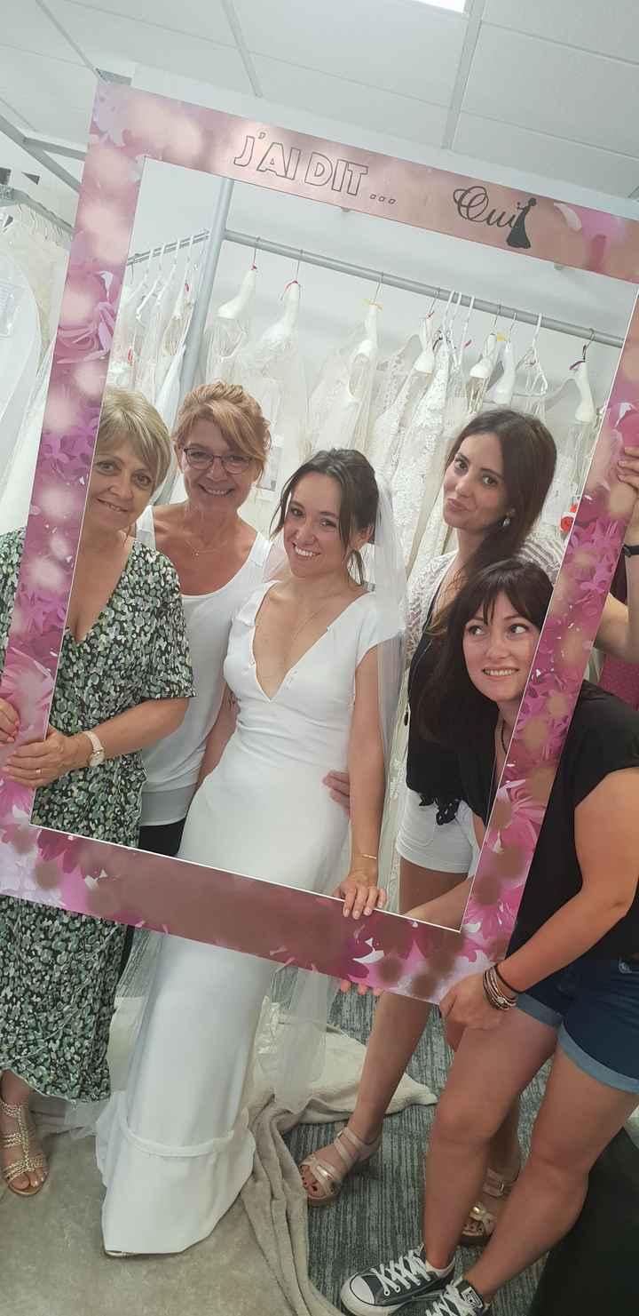 Essayage robe de mariée 1